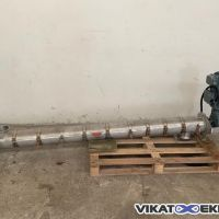 Vis tube inox Ø150 Long 2000 mm ouverture totale