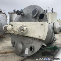 6000 litres HOSOKAWA NAUTAMIX type 60-MFC-45 screw conical mixer