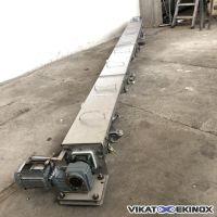 Vis en auge Lg. 4300 mm inox BOUBIELA MORET