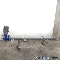 Vis en auge L. 2290 mm inox