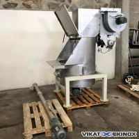 Bag emptying – stainless steel