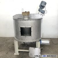 LAZARETH screw conical mixer 200L