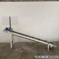 Belt conveyor width 250mm Length 2500mm