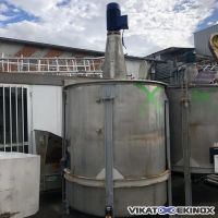 Stainless steel mixing tank 4500 litres