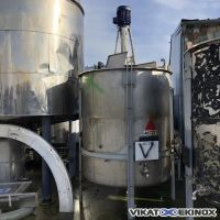 S/S mixing tank 4500 litres