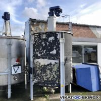 Mixing tank 4500 litres – S/S 316 Ti