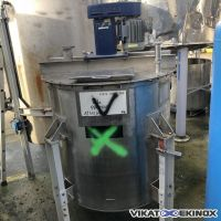 S/S mixing tank 1400 litres