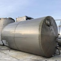 Insulated S/S vertical tank 40 m3