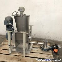 ESTEVE S/S screw feeder