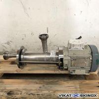 S/S PCM Moineau pump 0.37 kw