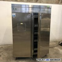 WEISS stainless steel refrigerator 1000 litres