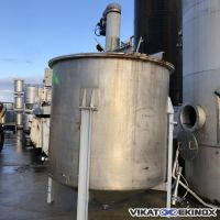 Cuve de mélange 8000 litres inox