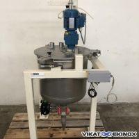 Cuve de mélange 100 litres inox
