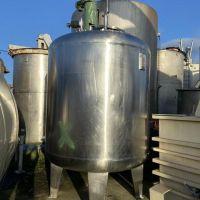 Mixing tank 12270 litres S/S 316L