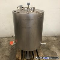 S/S double jacket tank 325 litres