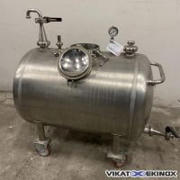 Stainless steel vacuum Tank 250 litres