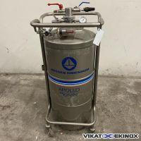 MESSER GRIESHEIM type APOLLO 100 Biosafe nitrogen storage tank 100 litres