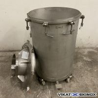 DECALINOX stainless steel tank 200 litres
