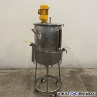 Double wall mixing tank 70 litres