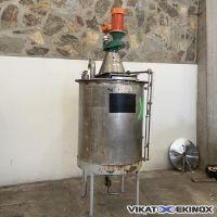 Cuve de mélange 1000 litres inox