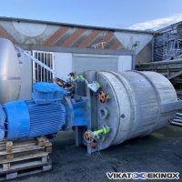 GRENIER CHARVET Mixer dissolver 3500 litres
