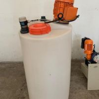 ProMinent plastic agitated tank 130 L
