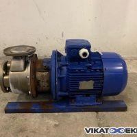 S/S KSB centrifugal pump 50m3/h