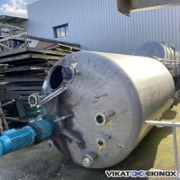 S/S Mixing tank 10000 litres