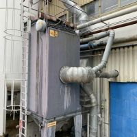 DELTA NEU Baghouse dust collector – 64 bags Lg. 3000 mm