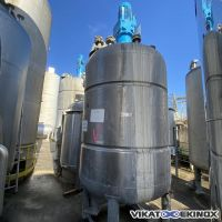 ROUSSELLE S/S Mixing tank 6000 litres type M6000L