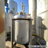 Réacteur inox 5000 litres CICS Inox Z8CNDT1812