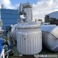 S/S agitated Reactor 1610 litres