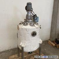 Mixing Tank 160 litres S/S 316Ti