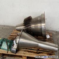 Tête d'atomisation APV type CC-160-SI