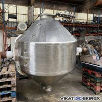 Sécheur rotatif bicône sous vide 2500 litres total ORTH