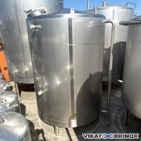 Cuve 10000 litres inox 316L PROMINOX type NUPE 10.000L