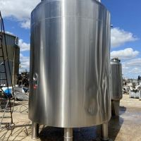 Réacteur agité 14595 litres inox 316L PROMINOX