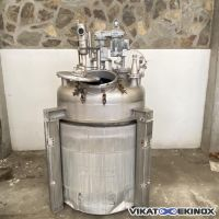 S/S agitated reactor 2500 litres