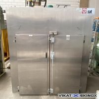 Stainless steel oven 2300 litres 250°c SAT type NORMA-SAT