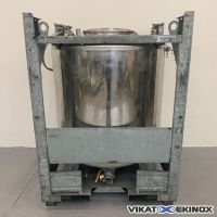Container inox UCON  1000 litres