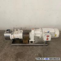 PCM rotary lobe pump 40.5 m3/h