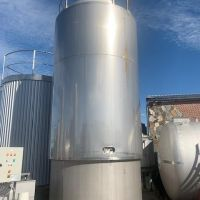 Agitated jacketed tank 30m3 S/S 316 – SCIO type TSC 30 000 L