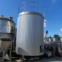 S/S agitated tank 20m3 with insulation