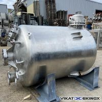 CICR S/S Tank 5300 litres with internal heating