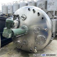 ADM Mixing tank 8950 litres S/S 316L