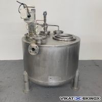S/S agitated tank approx. 500 L