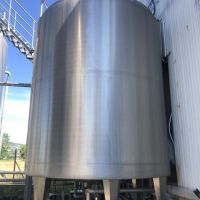 Agitated jacketed S/S tank 20m3 – SCIO type CT20000L