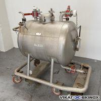 Cuve 300 litres inox 316L