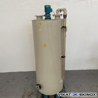 PPH plastic mixing tank 775 litres