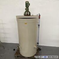 PPH plastic mixing tank 1000 litres  CADIOU PLASTIQUE